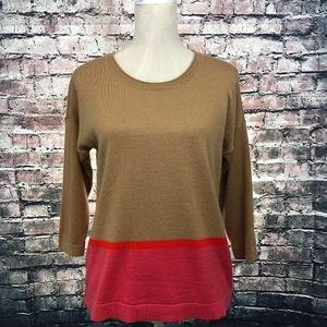 Ann Taylor LOFT Women's Color Block Sweater
